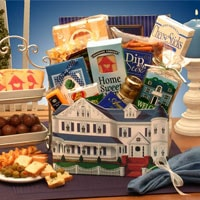 Home Sweet Home Gift Box - Fine Gifts La Bella Basket Company