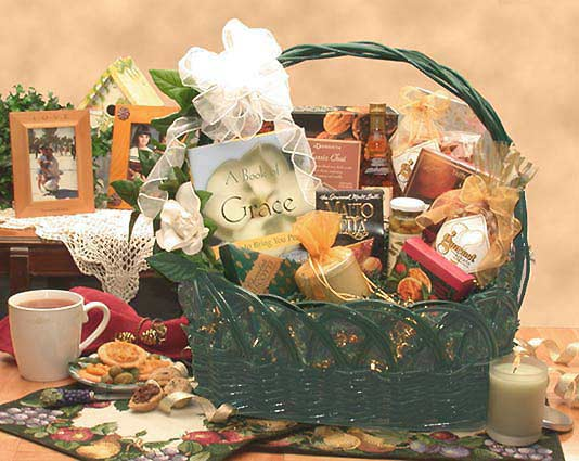 A Gift of Grace Gift Basket - Fine Gifts La Bella Basket Company