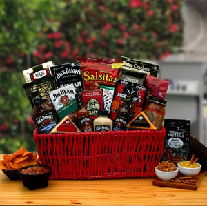 Jim and Jack Grilling Gift Basket - Together At Last - Fine Gifts La Bella Basket Company