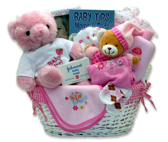 Sweet Baby of Mine Basket - Fine Gifts La Bella Basket Company
