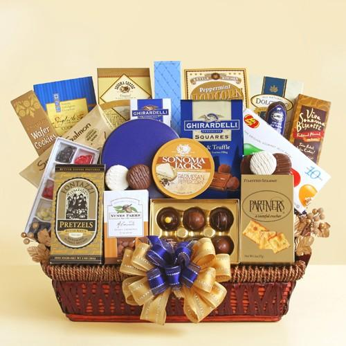 office-delights-gift-basket - Fine Gifts La Bella Basket Company