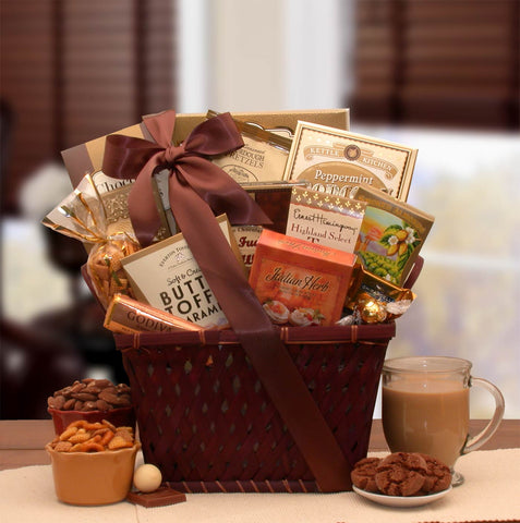 Sending Prayers Sympathy Gift Basket