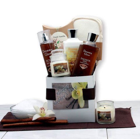 Vanilla Spa Care Package - Fine Gifts La Bella Basket Company