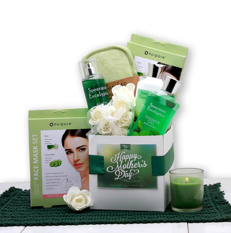 Eucalyptus Spa Care Package - Fine Gifts La Bella Basket Company