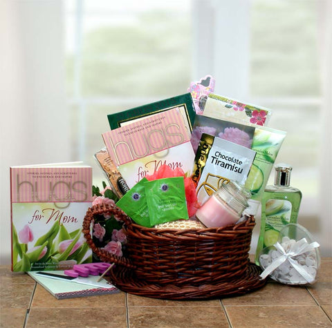 Mom Deserves A Hug and Some Relaxation Gift Basket