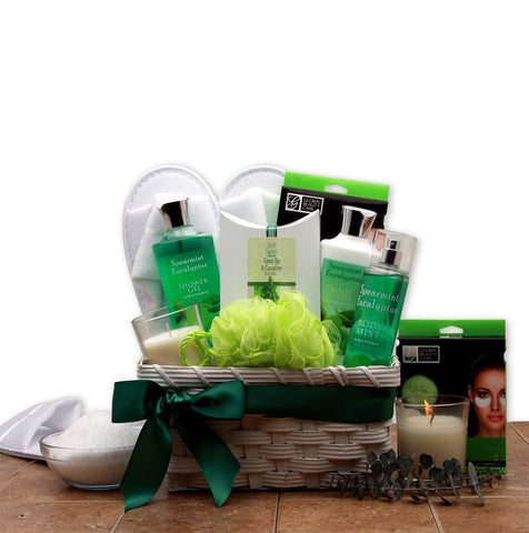 Eucalyptus Spa Basket