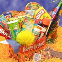 Deluxe Happy Birthday Care Package - Fine Gifts La Bella Basket Company