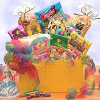 Gift Box to Say Happy Birthday - Fine Gifts La Bella Basket Company