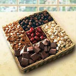 Sweet and Savory Snack Tray - Fine Gifts La Bella Basket Company