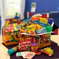 Kids Just Wanna Have Fun Care Gift Box - Fine Gifts La Bella Basket Company