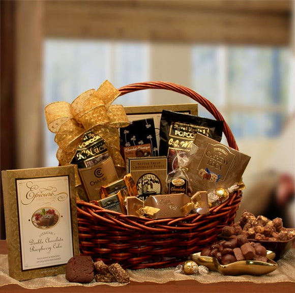 Chocolate Gourmet Gift Baskets - Fine Gifts La Bella Basket Company