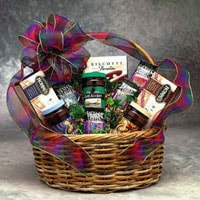 Coffee Connoisseur Gift Basket - Fine Gifts La Bella Basket Company