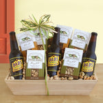 Nuts About You GIft Snack Tray - Fine Gifts La Bella Basket Company