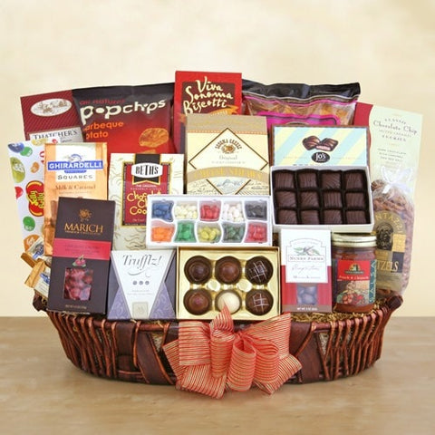 California Grand Gift Basket - Fine Gifts La Bella Basket Company