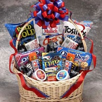 Coke Works Gift Basket - Large - Fine Gifts La Bella Basket Company