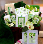 Cucumber Melon Spa Basket - Fine Gifts La Bella Basket Company
