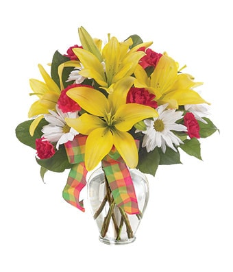 Spring Bouquet Flower Bouquet - Fine Gifts La Bella Basket Company