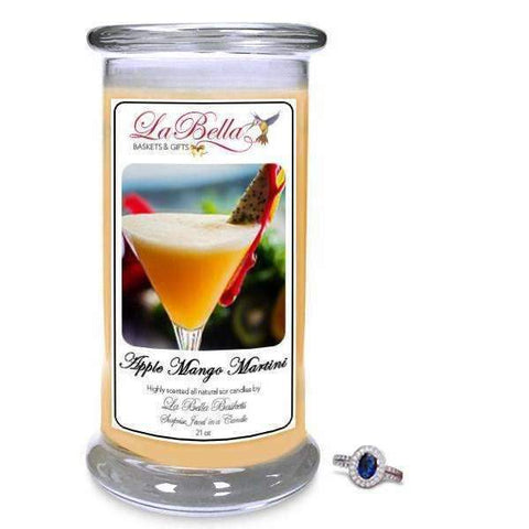 Apple Mango Martini Jewelry Candles - Fine Gifts La Bella Basket Company