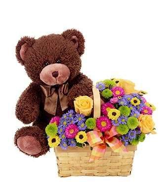 Love You Beary Much - Fine Gifts La Bella Basket Company