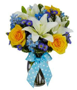 Its a Boy Bouquet - Fine Gifts La Bella Basket Company