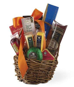 Gourmet Party Basket - Fine Gifts La Bella Basket Company