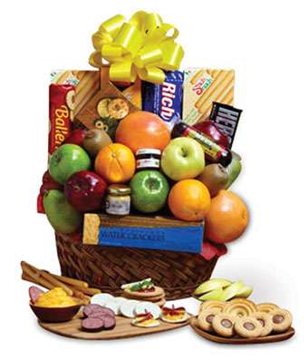 Orchard Fruit and Snacks - Fine Gifts La Bella Basket Company