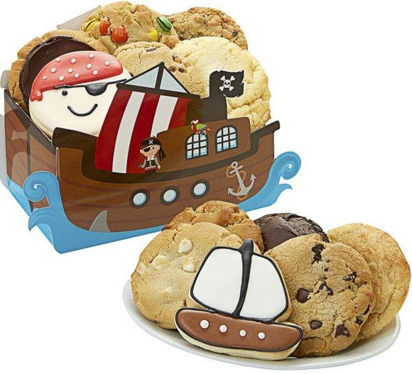 Cookies For A Pirate - Fine Gifts La Bella Basket Company