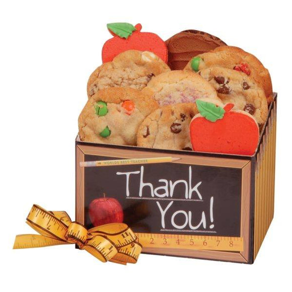 Thank You 12 Cookies - Fine Gifts La Bella Basket Company