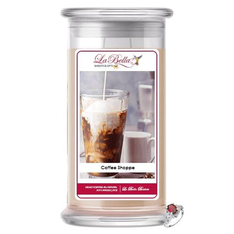 Coffee Shoppe Jewelry Candle