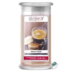 Espresso Delight Jewelry Candle