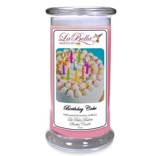 Birthday Cake Scented Soy Candle