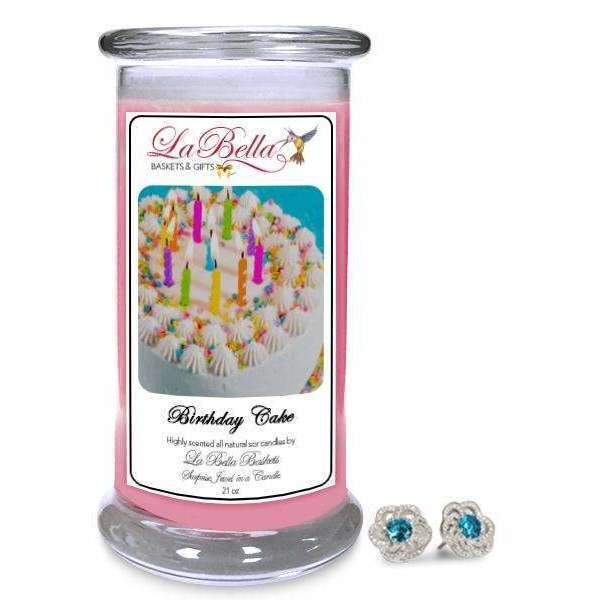 Birthday Cake Scented Jewelry Candles