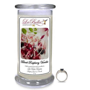 Black Raspberry Vanilla  Jewelry Candle - Fine Gifts La Bella Basket Company