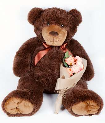 GIANT Teddy Bear-36 inch - Fine Gifts La Bella Basket Company