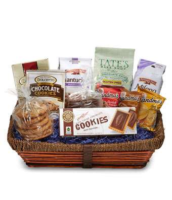 Perfect Cookie Basket - Fine Gifts La Bella Basket Company