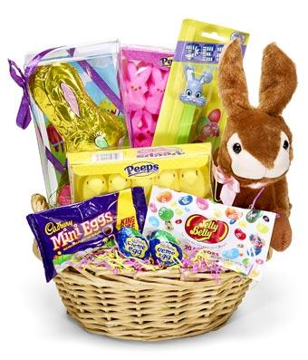 Classic Easter Candy Gift Basket - Place Order by the 29th