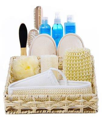 Vanilla Calming Spa Basket - Fine Gifts La Bella Basket Company