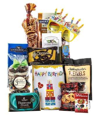 Congrats On Your Birthday - Fine Gifts La Bella Basket Company