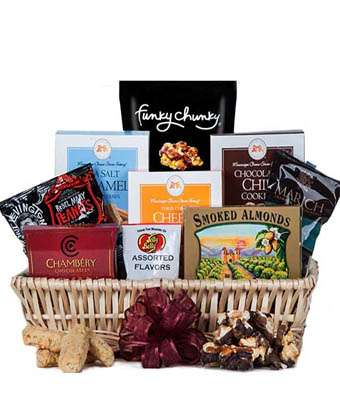 Just Right Basket - Fine Gifts La Bella Basket Company
