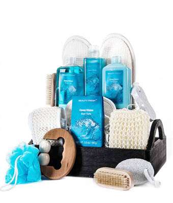 Ocean Waters Spa Delights - Fine Gifts La Bella Basket Company