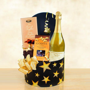 Sparkling Wine And Chocolate Celebration