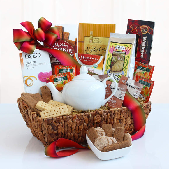 Ultimate Tea Time Delights Gift Basket