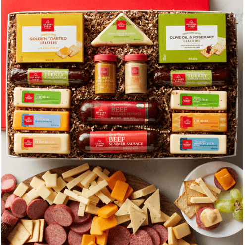 PARTY FOR THE WHOLE GANG Meats & Cheeses - Fine Gifts La Bella Basket Company