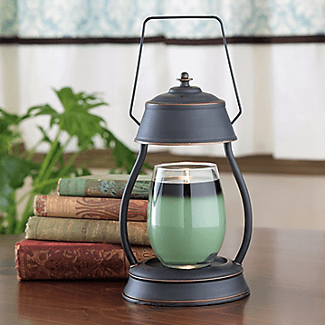Oil Rubbed Bronze Rustic Hurricane Lantern - Fine Gifts La Bella Basket Company