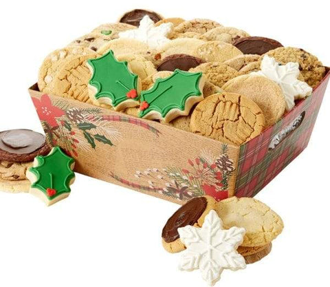 Happy Holidays Cookie Box