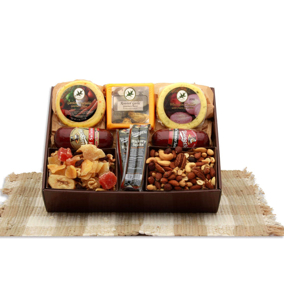 Sweet N Savory Classic Favorites Gift Box - Fine Gifts La Bella Basket Company