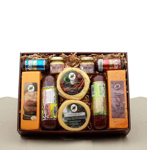 Deluxe Meat and Cheese Assortment Gift Set