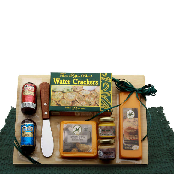 Classic Selections Meat and Cheese Gifts - Fine Gifts La Bella Basket Company