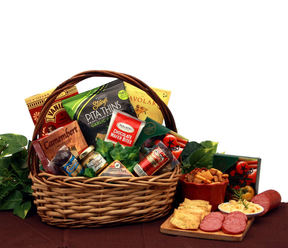 Snack Cravings Gift Basket - Fine Gifts La Bella Basket Company