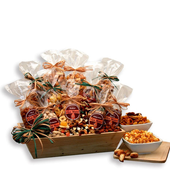 Go Nuts Premium Nuts & Snacks Tray